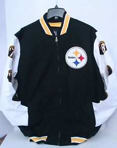 Pittsburgh STEELERS SUPER BOWL JACKET LG NEW NFL Officially Licensed ... 628275732