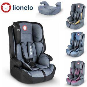Lionelo Jasper Autokindersitz Kindersitz ISOFIX 9-36Kg Gruppe 1+2+3 TÜV Rot