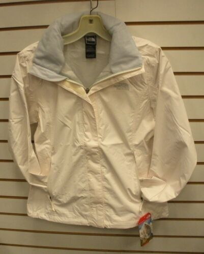 GARDENIA WHITE S,M,L THE NORTH FACE WOMENS RESOLVE WATERPROOF JACKET AQBJ