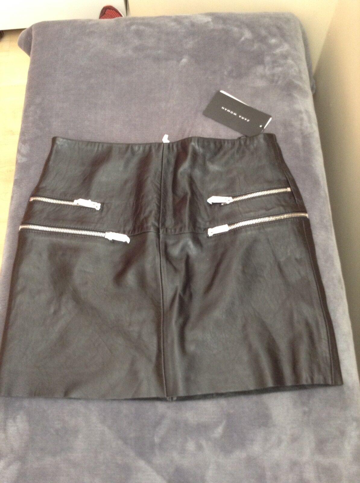 Zara Leather Skirt Nwt Size Small