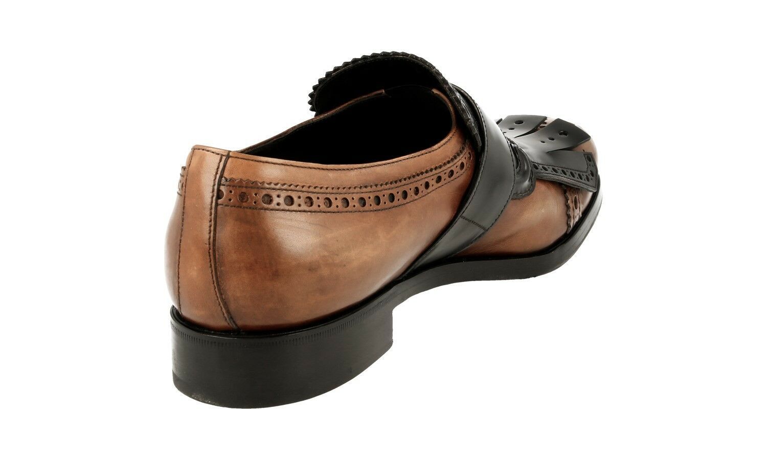 AUTHENTIC LUXURY PRADA BUSINESS SHOES 2OG056 BROWN NEW NEW NEW US 11 EU 44 44,5 3fa7b0