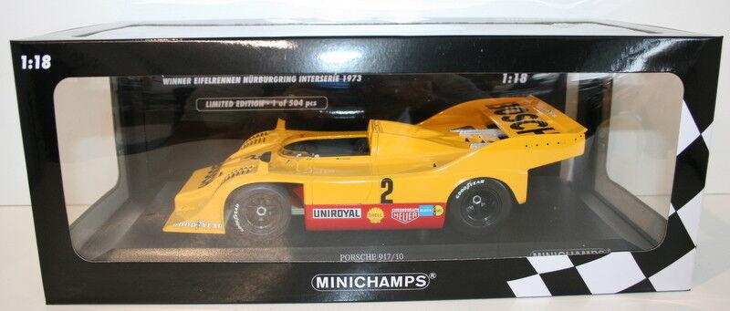 Minichamps 1 18 diecast - 155736502 - Porsche 917 10 Bosch-Kausen Team 1973