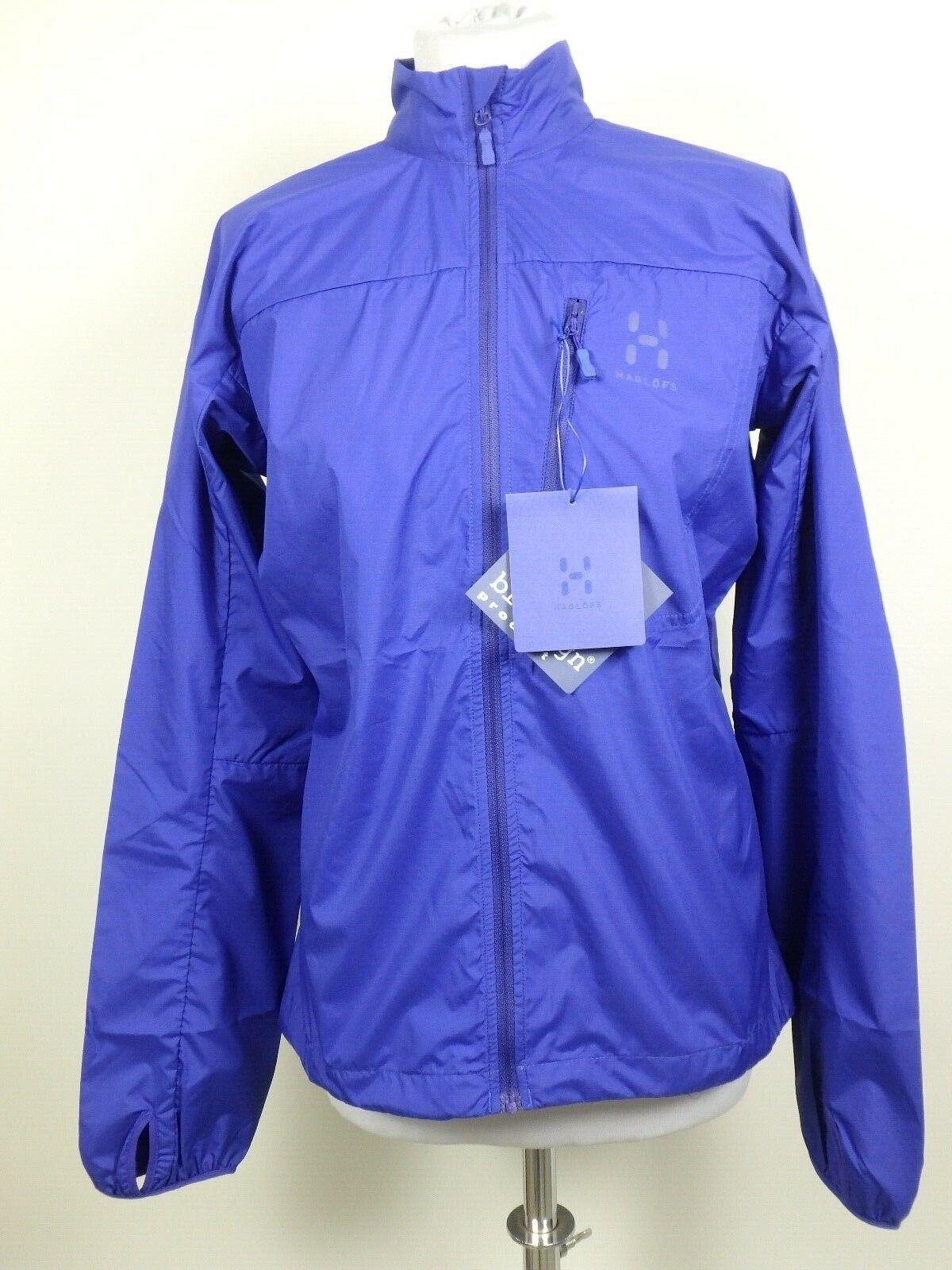 Haglöfs    28555 Shield q chaqueta cazadora windstopper chaqueta señora talla M azul 50d46f