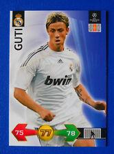 CARD PANINI CHAMPIONS LEAGUE 2009/10 - GUTI - REAL MADRID - N.270