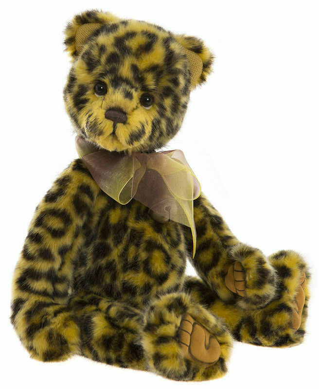 Charlie Bears Bears Bears Chutney CB181852B Kollektion 2018 für Kinder und Sammler 72cdc7