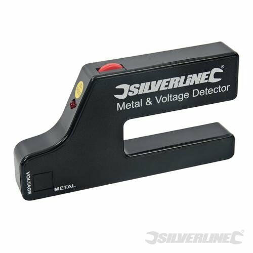 Silverline 568917 Metal and Voltage Detector 1 x 9 V