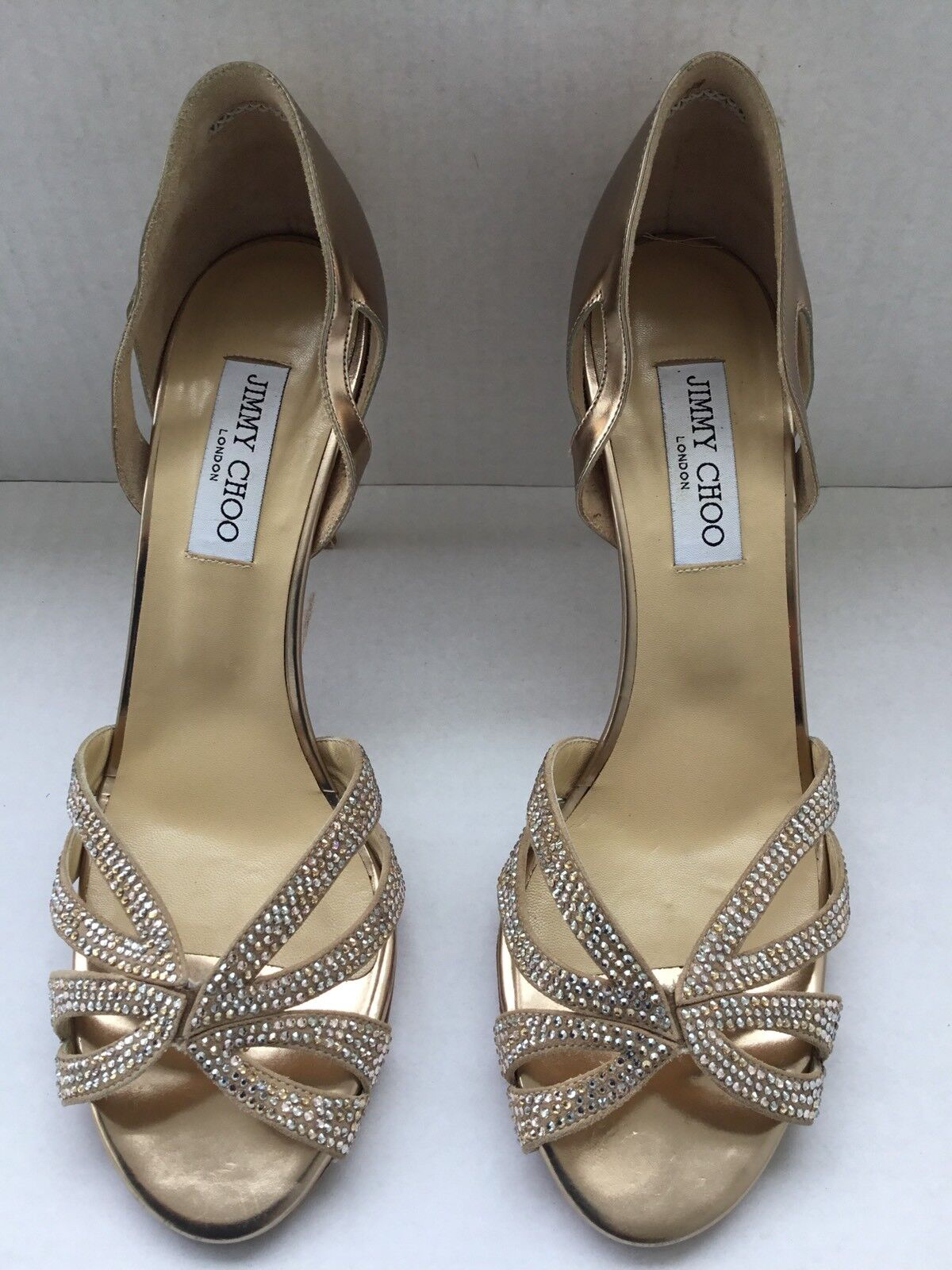 Jimmi Choo Womans Evening shoes  .Sz 41 Made in
