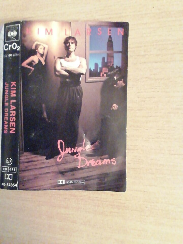 Bånd, Kim Larsen Jungle Dreams, 1981