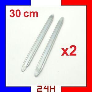 2-Demonte-pneu-30-cm-trottinette-Levier-fer-acier-trotinette-lot-de-2-demontes