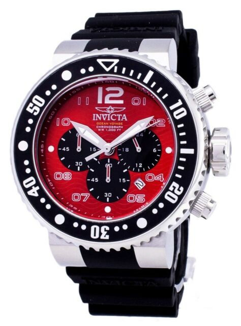 Invicta Pro Diver 26734 Ocean Voyage Chronograph Quartz 300M Men's Watch