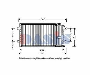 Klimaanlage  AKS DASIS Kondensator
