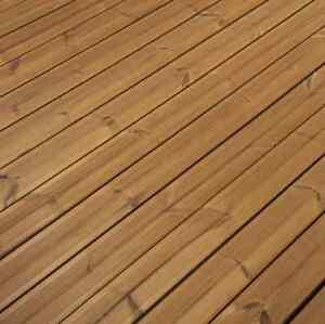 30 M Thermo Kiefer Komplettset Terrassendielen Thermoholz Set Holz