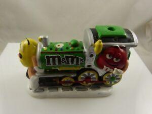 M-amp-M-Train-figurine-Ceramic-Christmas-Kurt-S-Adler-lights-up-M-amp-M-039-s