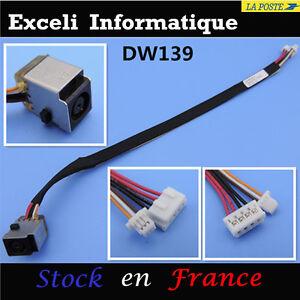 HP-ProBook-4310S-4710s-4510s-4515s-DC-Power-Jack-cap-l-039-hole-cable-f