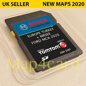 Ford Touchscreen Mca 7 Navigation Sat Nav Sd Card Latest Map V10 2020 2021 Ebay