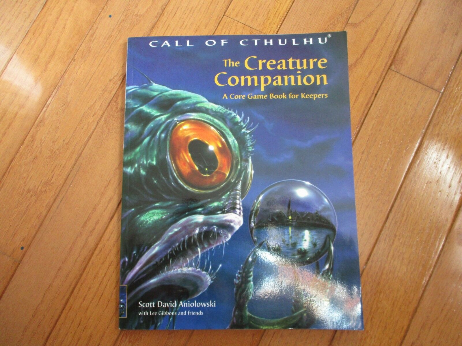 Call of Cthulhu la criatura compañero un núcleo Libro Juego Para Keepers