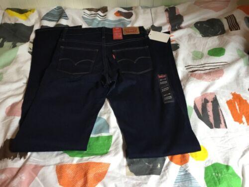 Levi/'s Slimming straight donna jeans pantaloni Dimensione Selezionabile NUOVO con etichetta