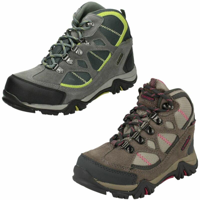 100% Wahr Childrens Hi-tec Renegade Trail Wp Jr Waterproof Walking Boots Im In- Und Ausland FüR Exquisite Verarbeitung, Gekonntes Stricken Und Elegantes Design BerüHmt Zu Sein