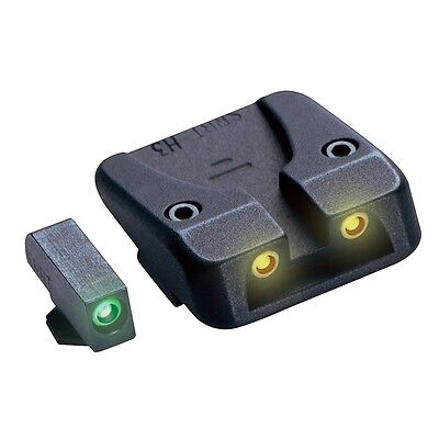 Tritium Night Sights for Glock Green Yellow Kit with DVD Tutorial T0030