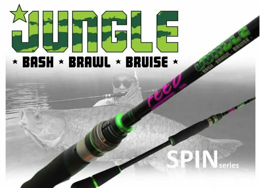 Feed Lures Rod Spinning Jungle Bash JBS -66 XH P.E 4 Max (0057)