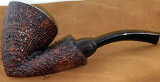 MINT NATE ARMENTROUT FULL BENT RING GRAIN BLAST FREEHAND PIPE
