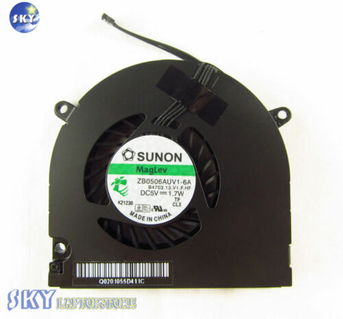"CPU FAN Apple MacBook Pro Unibody 13/"" A1278 Late 2008 Mid 2009 2010 2011 2012"