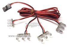 KIT LUCI DA 12 LED 6 LUCE BIANCA 6 LUCE ROSSA  VRX T974 X 1-5 1-8 1-10 1-16