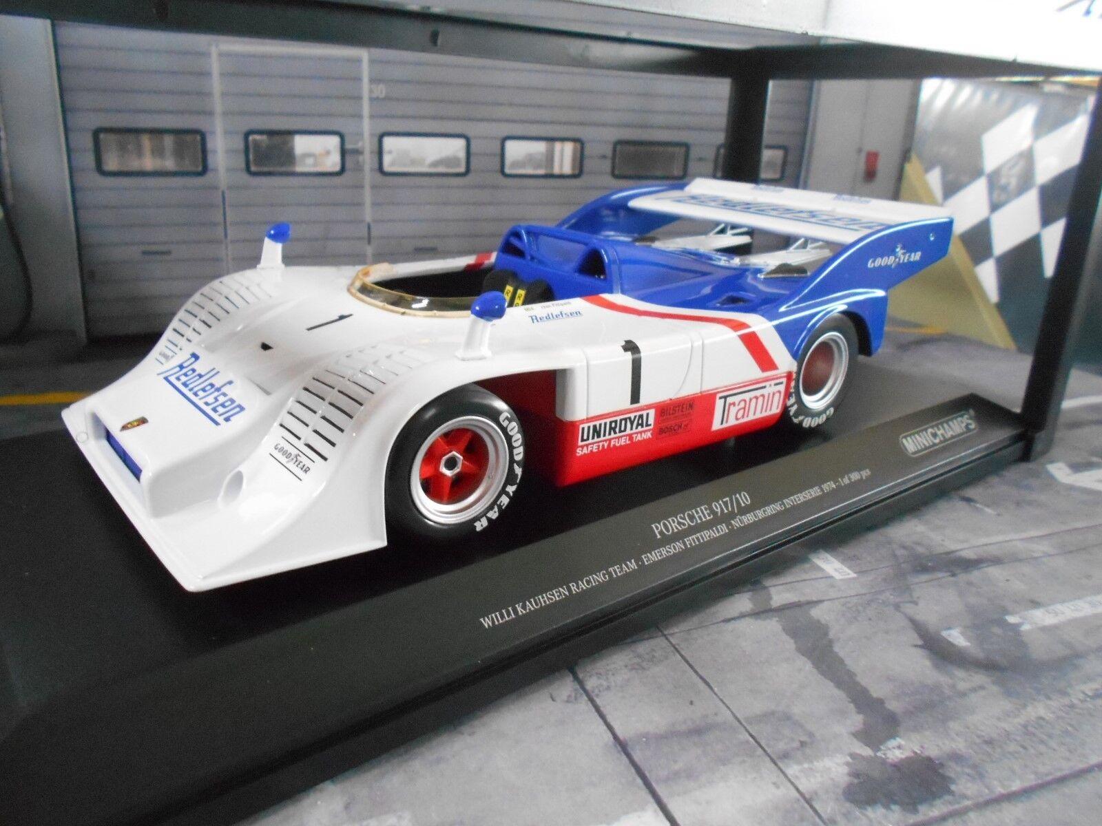 Porsche 917 917 10 Spyder 1974 Kauhsen Racing  1 Fittipaldi mé MINICHAMPS 1 18