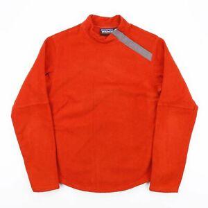 Vintage-PATAGONIA-SYNCHILLA-Orange-High-Neck-Fleece-Jumper-Women-039-s-Size-Medium