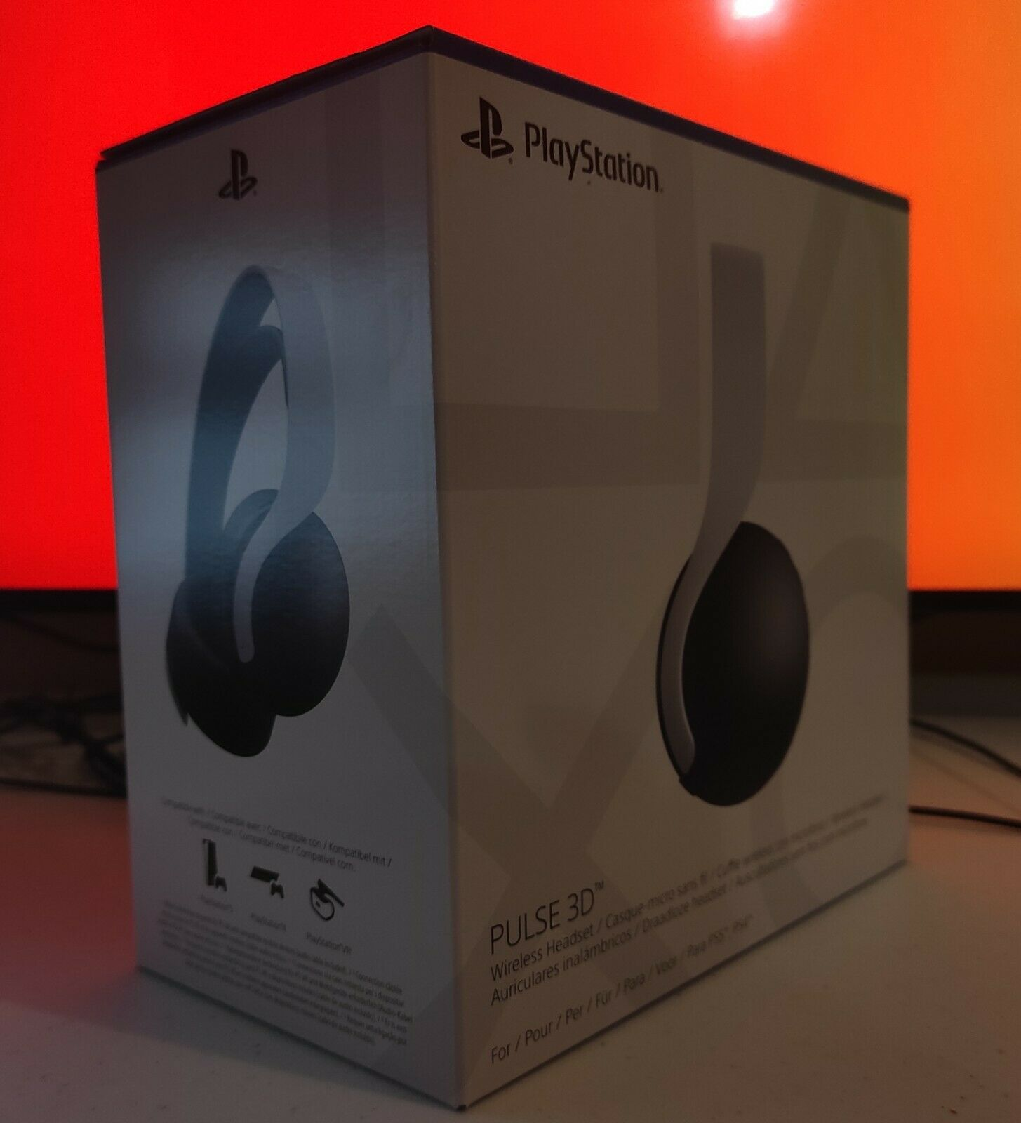 SONY PlayStation PULSE 3D Headset ✅ UPS EXPRESS DELIVERY ✅ NEW