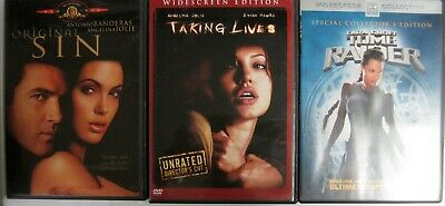 Original Sin Taking Lives Lara Croft Tomb Raider Dvd