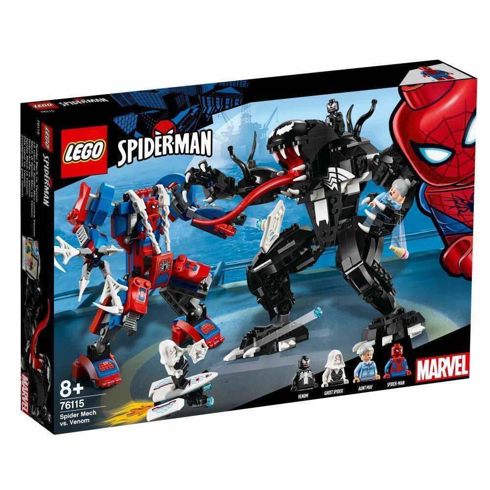 LEGO 76115 Marvel Super Heroes Spider Mech vs. Venom   NEUHEIT 2018 OVP