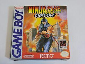 Ninja-Gaiden-Shadow-Nintendo-Game-Boy-Complete-In-Box-CIB-Game-Manual