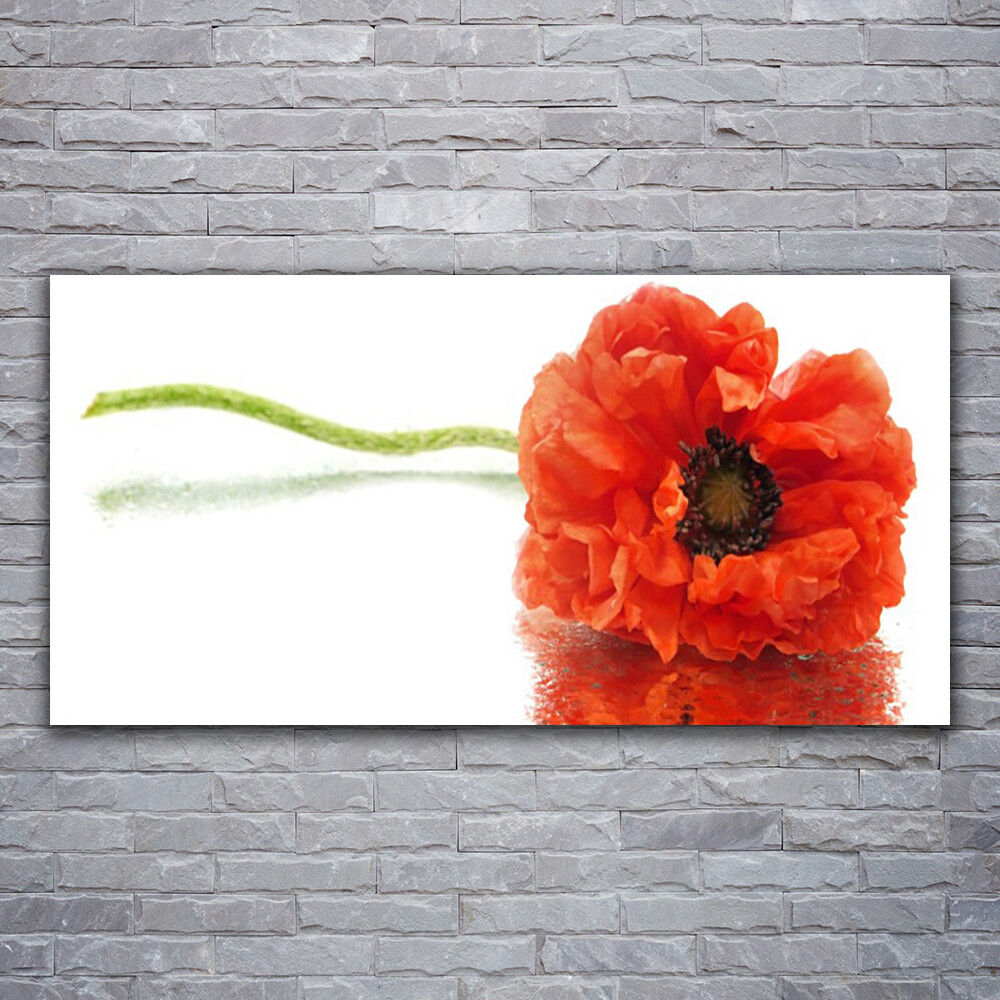 Impression sur verre Wall Art 120x60 Photo Image Fleur Floral