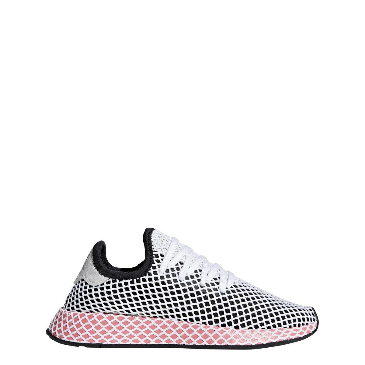 adidas W Womens DEERUPT RUNNER W adidas Black/Black/Chalk Pink - CQ2909 b867f6