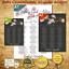 Personalised Rose Happily Ever After Wedding Table Seating Plan ANY COLOUR
