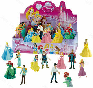 Official Disney Princess Figures Figurine Toy Cake Topper Cinderella