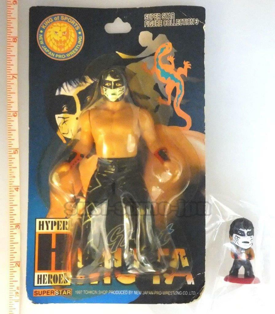 GREAT MUTA cifra SET NJPW WCW nuovo JAPAN PRO WRESTLING bianca Ver