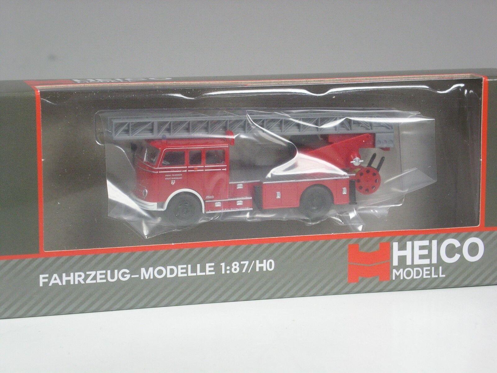 TOP  Heico Mercedes LP 329 Feuerwehr DL DL DL 30 Metz Rheinbach in OVP d6c3dc