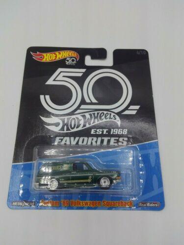 Hot Wheels NUEVO /'69 Volkswagen Squareback 50th Anniversary