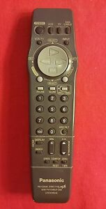 Details about Panasonic Program Director MB VCR/TV/CABLE DSS UNIVERSAL  Remote Control