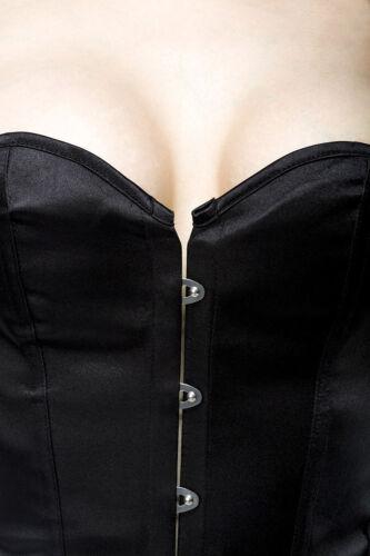 Abito 40 Xl 48 Fashion 46 Vestito Glamour Nero S 2xl Sexy M 42 44 L Corsetto d0zwdqf