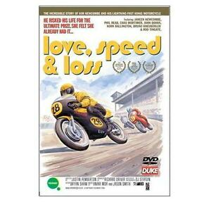 LOVE-SPEED-amp-LOSS-DVD-Kim-Newcombe-Classic-Motorcycle-Racing-GP-Duke-New