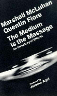 """VERY GOOD"" The Medium Is the Massage, Fiore, Quentin,McLuhan, Marshall, Book"