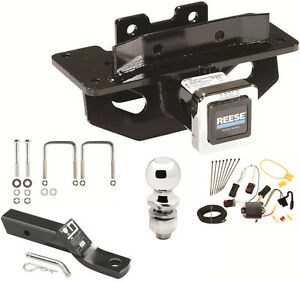 COMPLETE    TRAILER       HITCH    PKG W WIRING KIT FOR 0409    DODGE