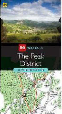 Very Good AA Publishing, The Peak District (AA 50 Walks) (AA 50 Walks Series), P