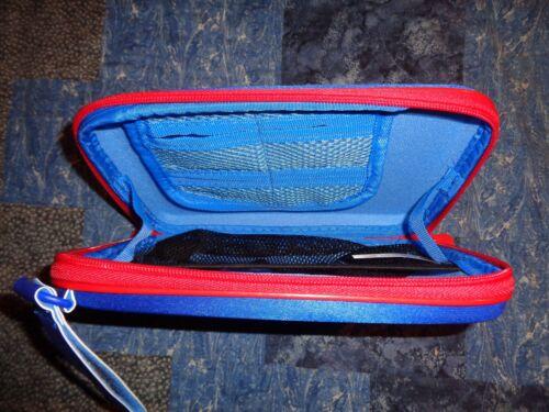 Genuine Vtech InnoTab 3 Zippered Storage Tote Case Blue//Red Trucks