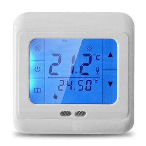 lcd raumthermostat digitaler bodenf hler thermostat. Black Bedroom Furniture Sets. Home Design Ideas