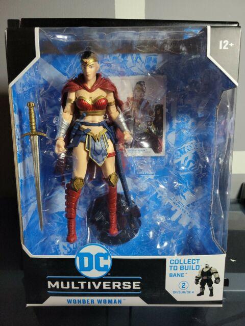 Todd McFarlane Toys - DC Multiverse -  Wonder Woman - NO Bane BAF!!