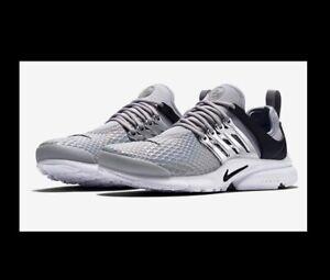 Nike Presto Silver With Rainbow